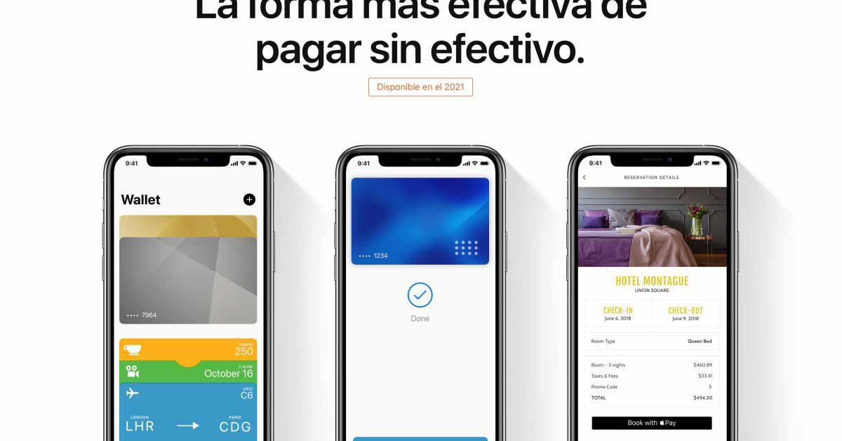 Apple Pay приходит в Мексику с картами Citibanamex и Banorte