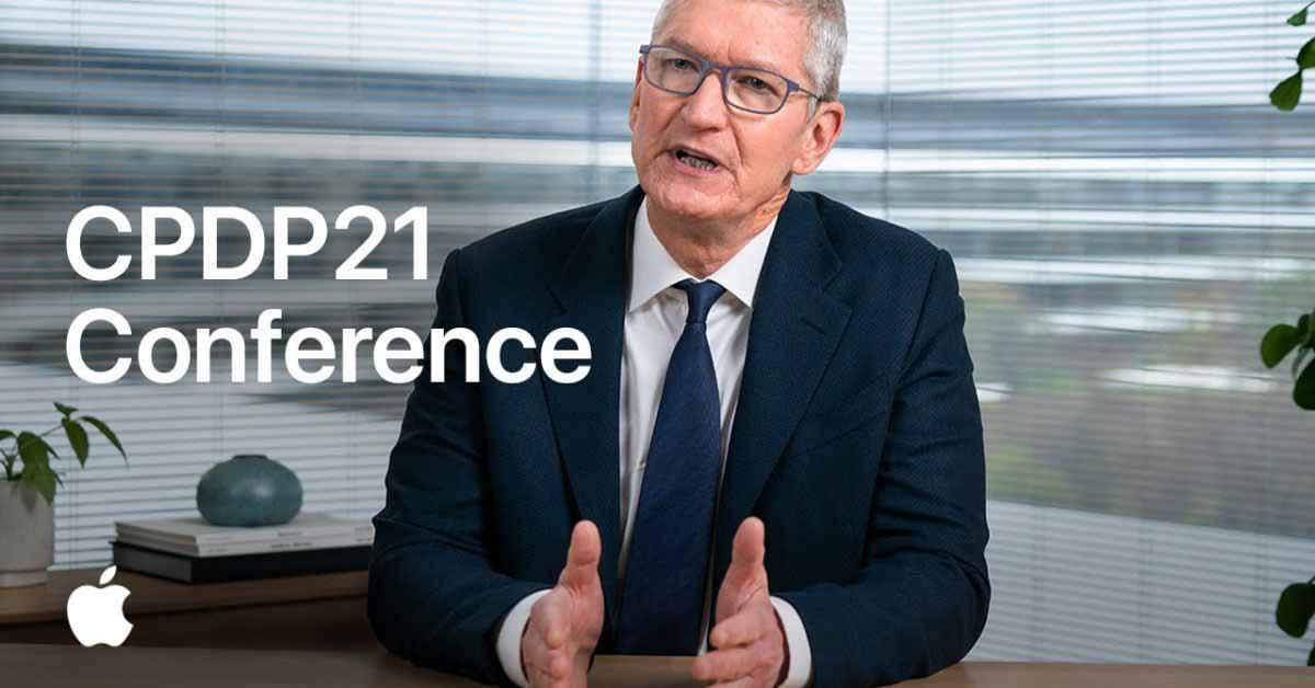 Apple представила новое видео выступления Тима Кука о конфиденциальности на конференции CPDP