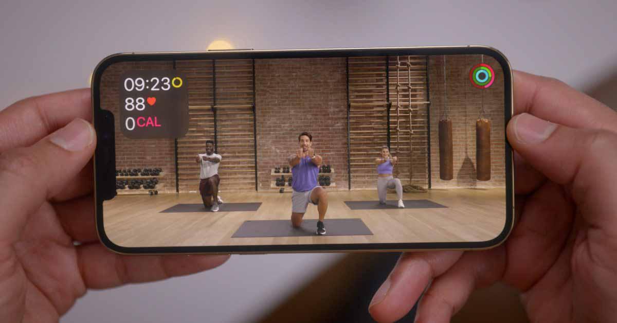 Бета-версия iOS 14.5 обеспечивает поддержку трансляции тренировок Apple Fitness + с помощью AirPlay 2