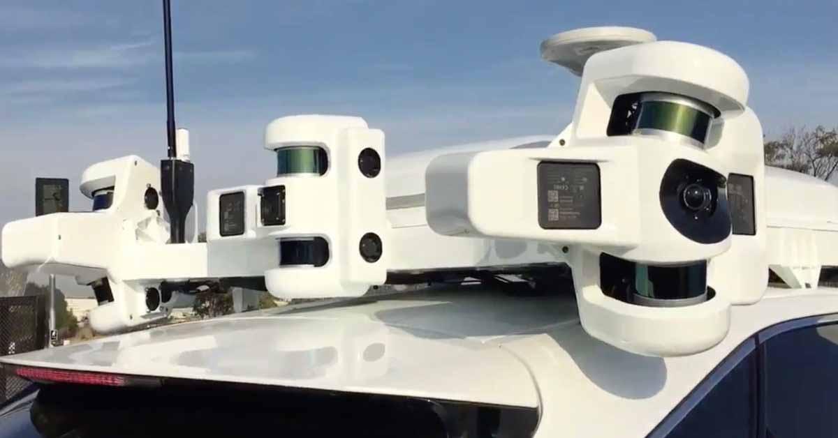 Bloomberg: Apple ищет поставщика LiDAR нового поколения для беспилотного автомобиля