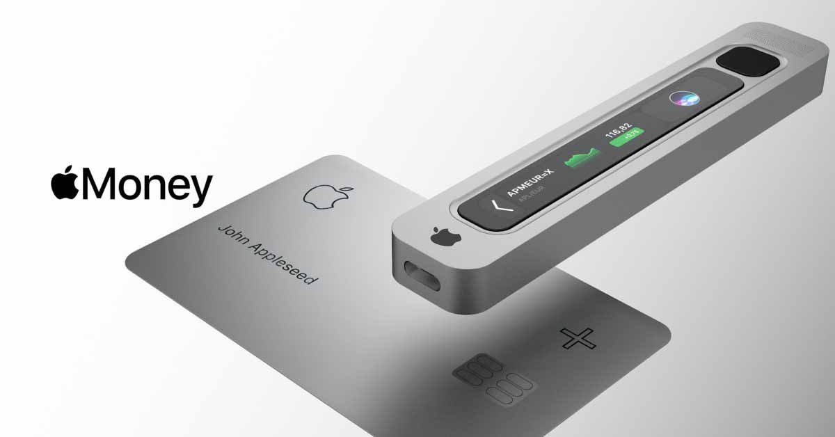 Concept представляет собой аппаратный криптокошелек Apple с интеграцией Apple Card