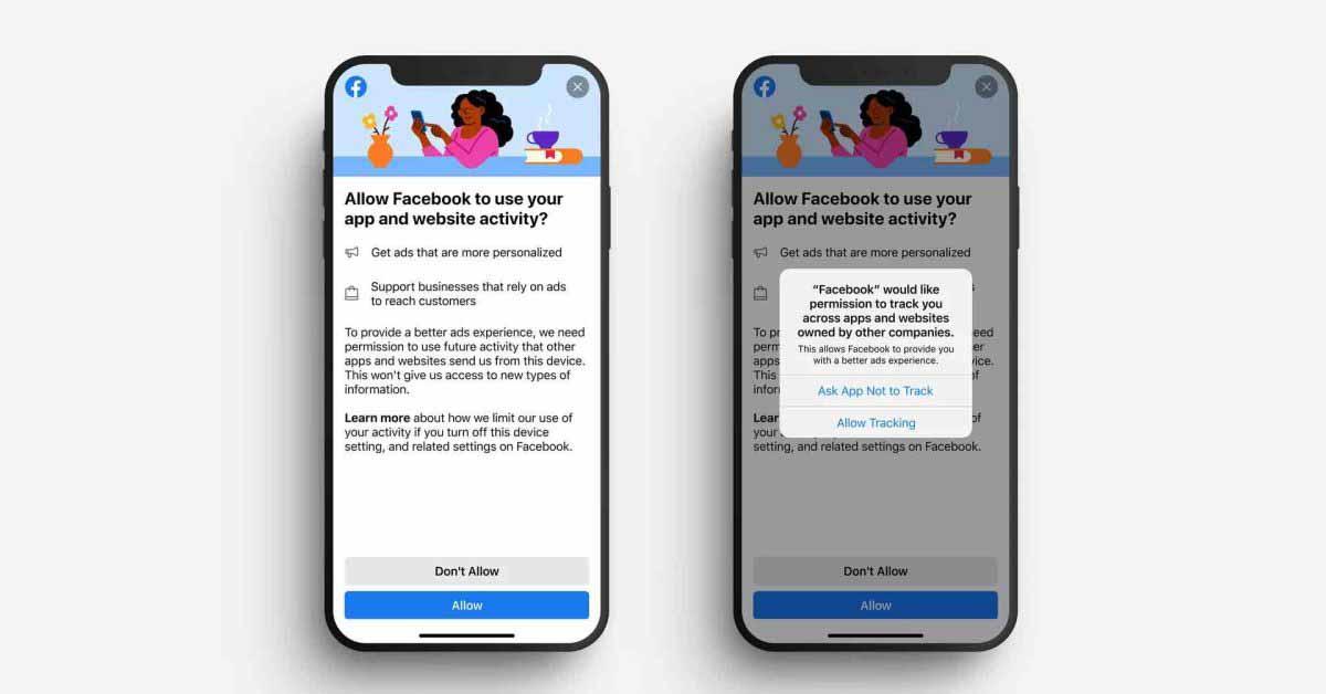 Facebook тестирует новую подсказку с просьбой разрешить отслеживание перед запуском Apple ATT