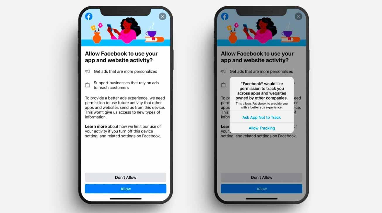 Facebook уже тестирует реакцию пользователей на отслеживание конфиденциальности