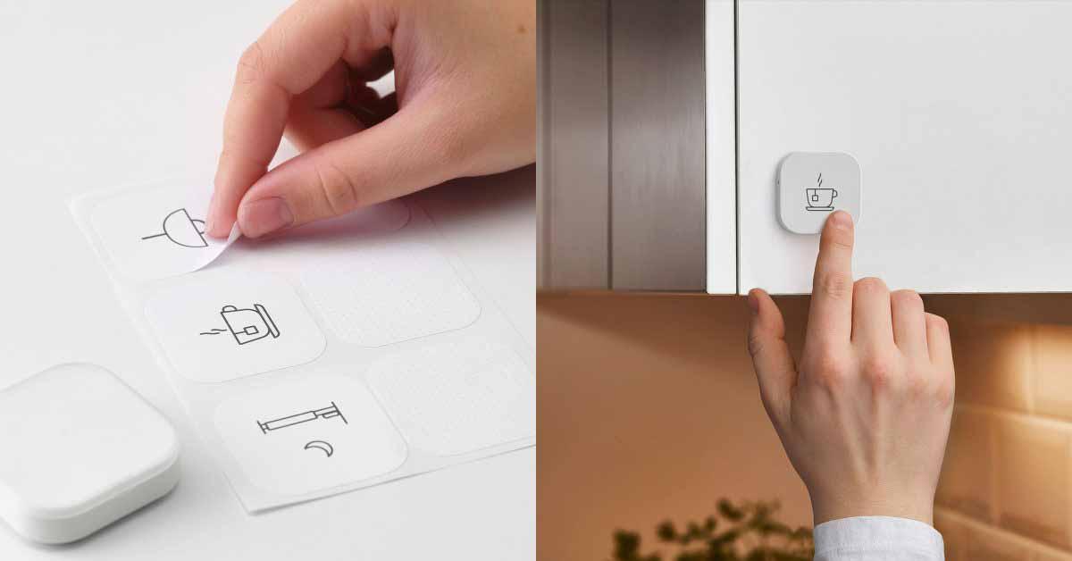Ikea HomeKit поддерживает датчик движения и кнопку