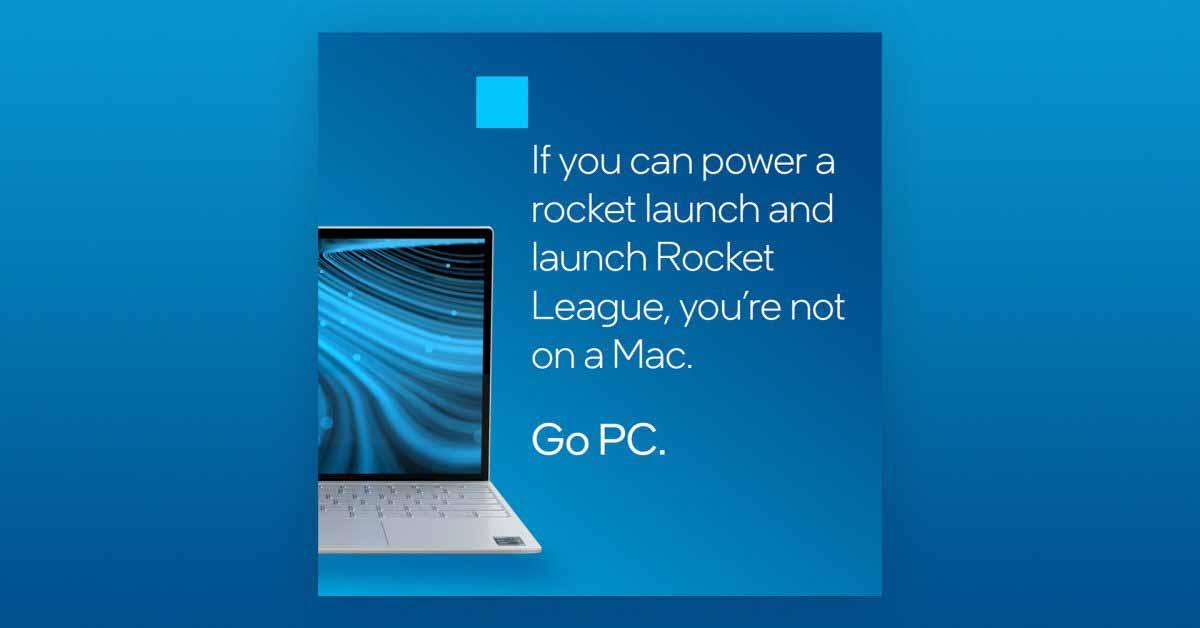 Intel издевается над Apple в новой кампании, подчеркивая то, что пользователи не могут делать на Mac M1