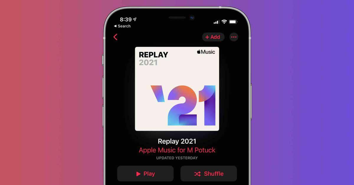 Как найти плейлист Apple Music Replay 2021
