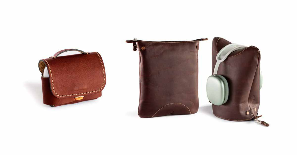 Pad & Quill представляет кожаную альтернативу Smart Case для AirPods Max, мини-портфель для AirPods Pro