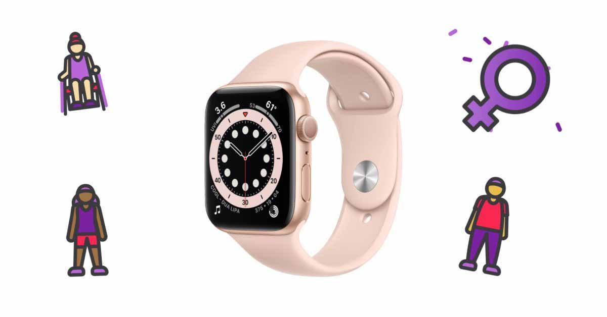 Пользователи Apple Watch могут потренироваться, чтобы получить виртуальный трофей в Международный женский день