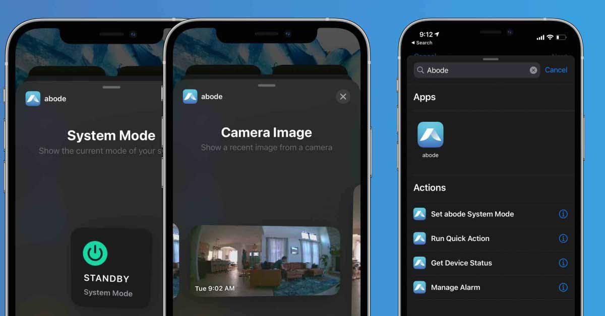 Приложение системы безопасности Abode HomeKit добавляет виджеты iOS, поддержку ярлыков в последнем обновлении