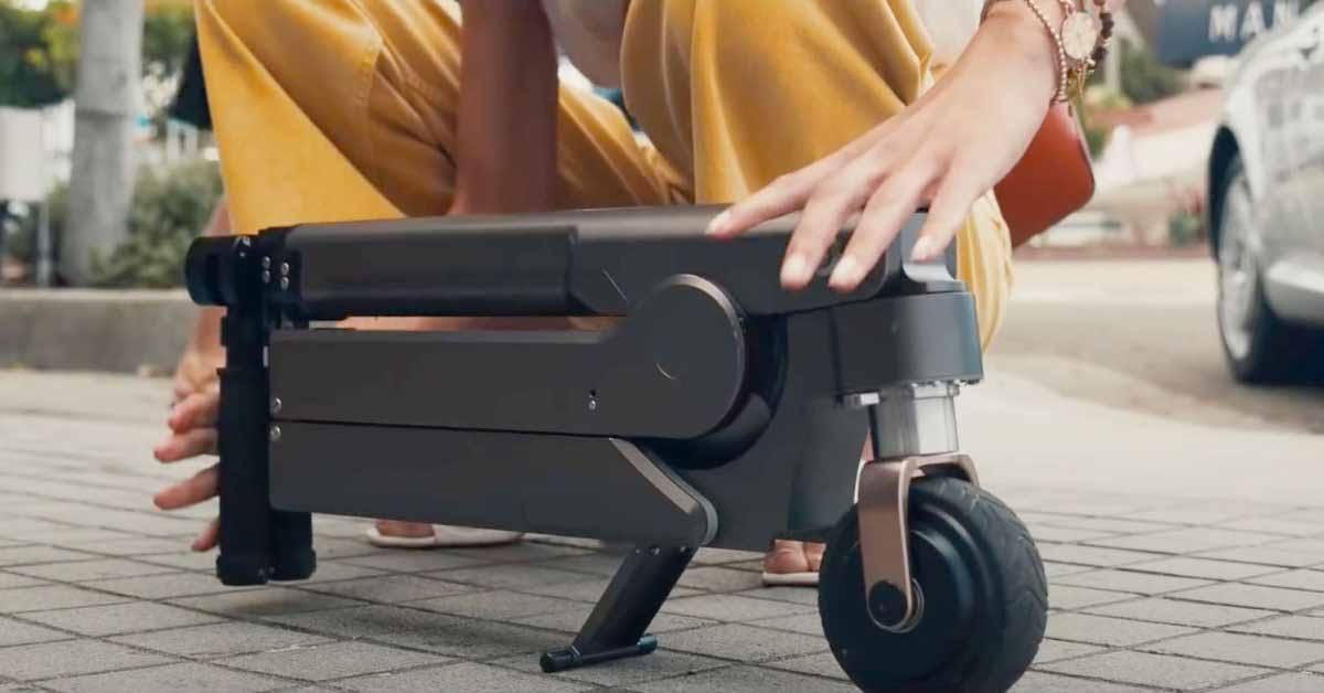 Слух о Kia Apple Car превратился в электрический скутер