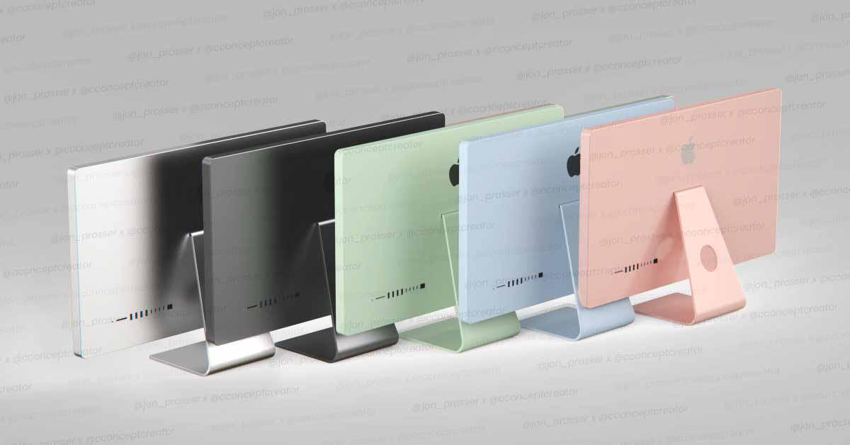 Слух: обновленный Apple Silicon iMac может быть доступен в цветах iPad Air