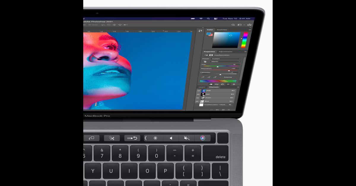 Тест на редактирование фотографий MacBook Pro M1 превосходит `` зверя '' настольных ПК