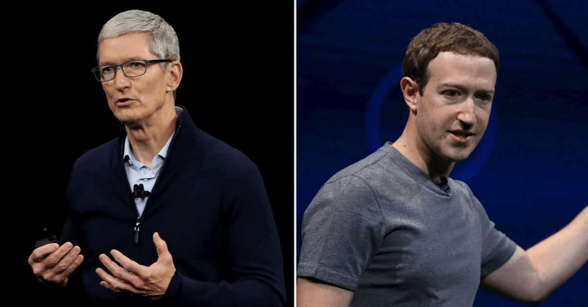 WSJ: Цукерберг велит сотрудникам «причинить боль» Apple, поскольку битва за конфиденциальность усиливается