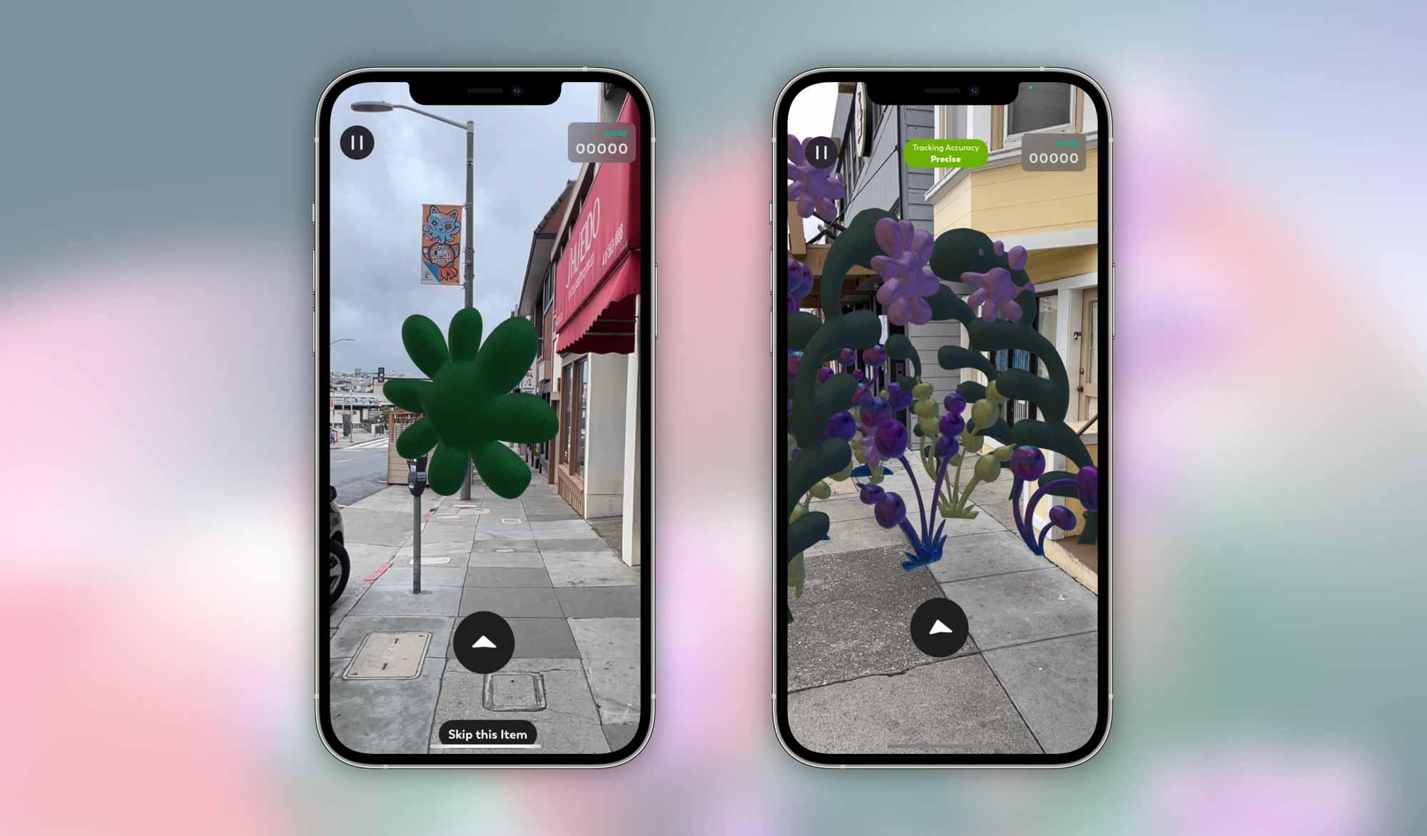 Новые скриншоты Nature AR