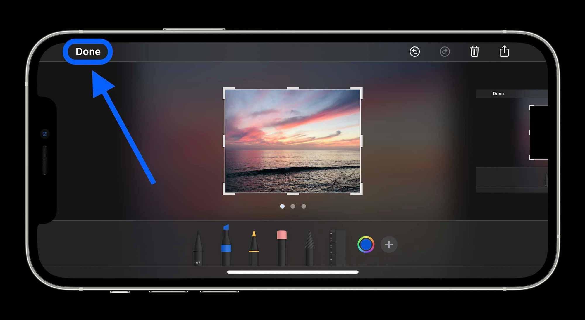Как удалить черные полосы на фотографиях iPhone, пошаговое руководство 2
