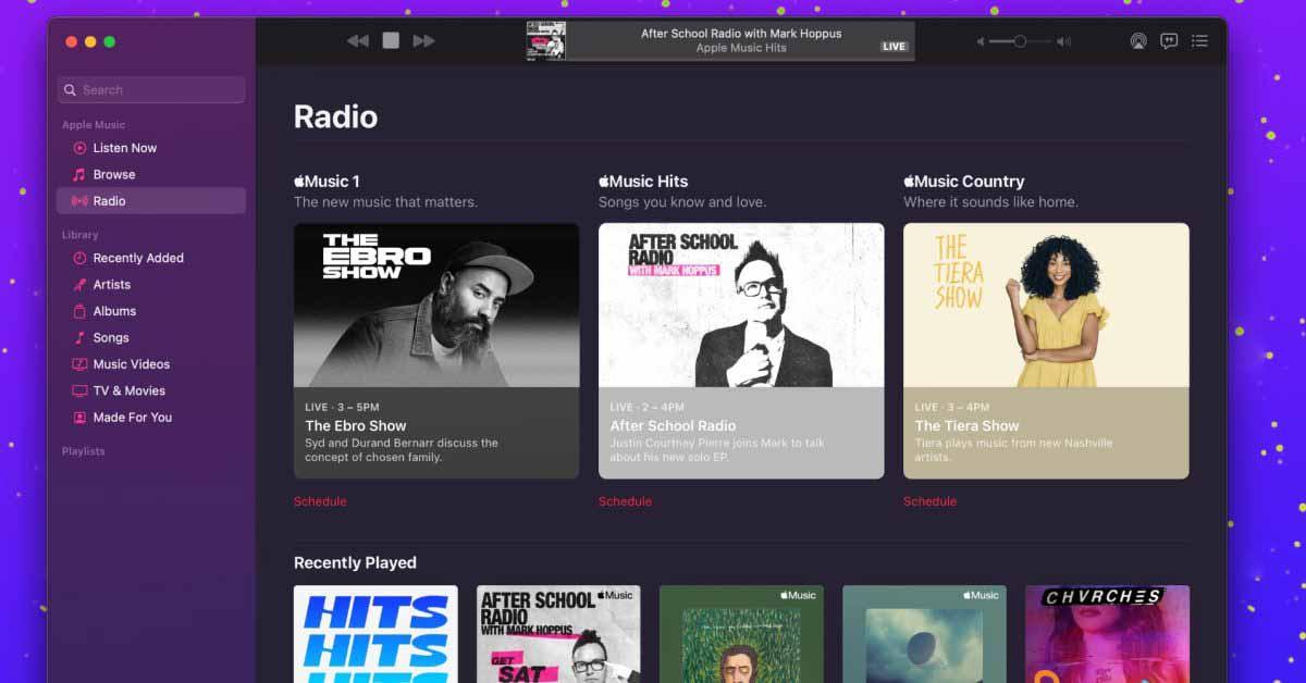 Apple Music добавляет новые ежедневные плейлисты City Charts с iOS 14.5