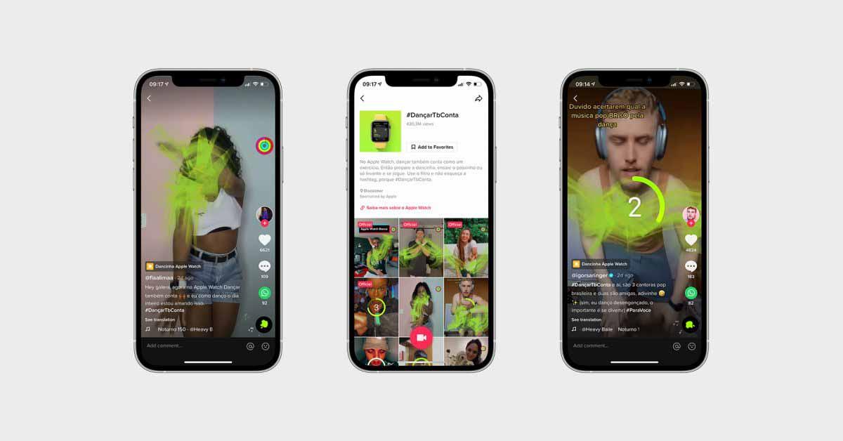 Apple продвигает вызов TikTok в Бразилии