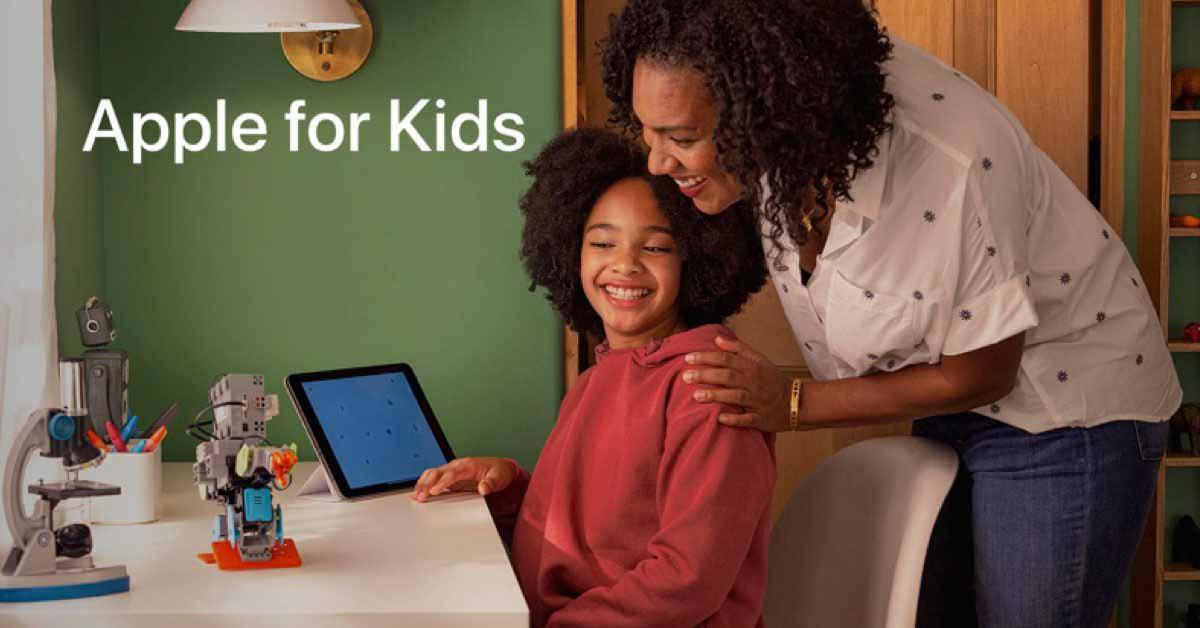 Apple запускает страницу поддержки родителей `` Apple для детей ''