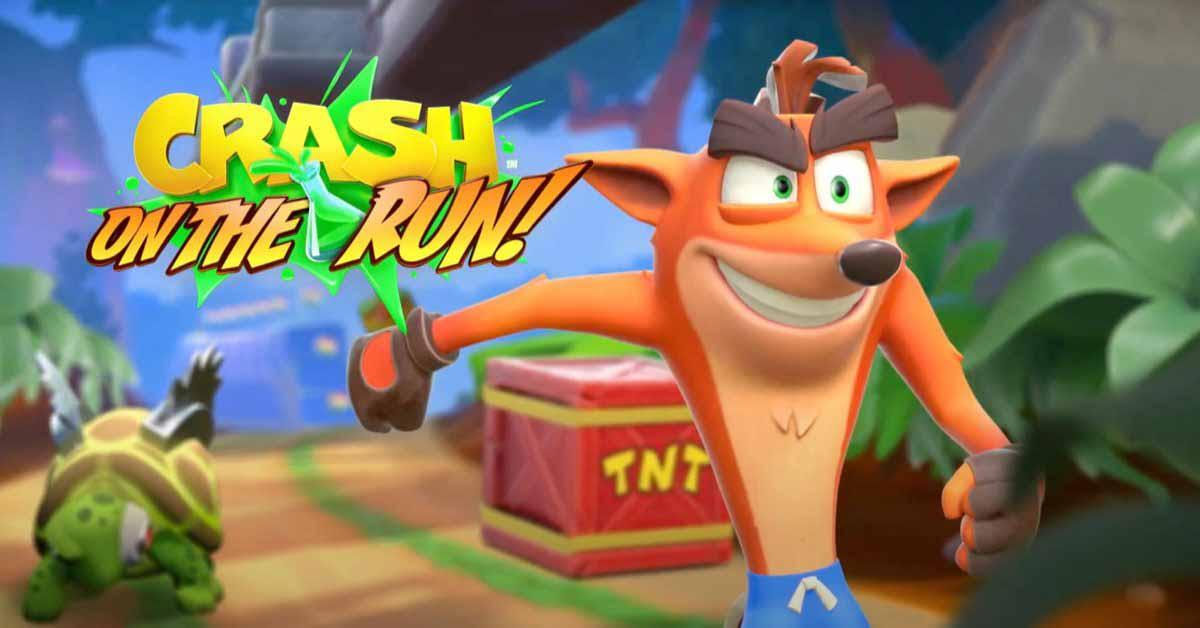 Crash Bandicoot: В бегах!  запускается 25 марта для iPhone