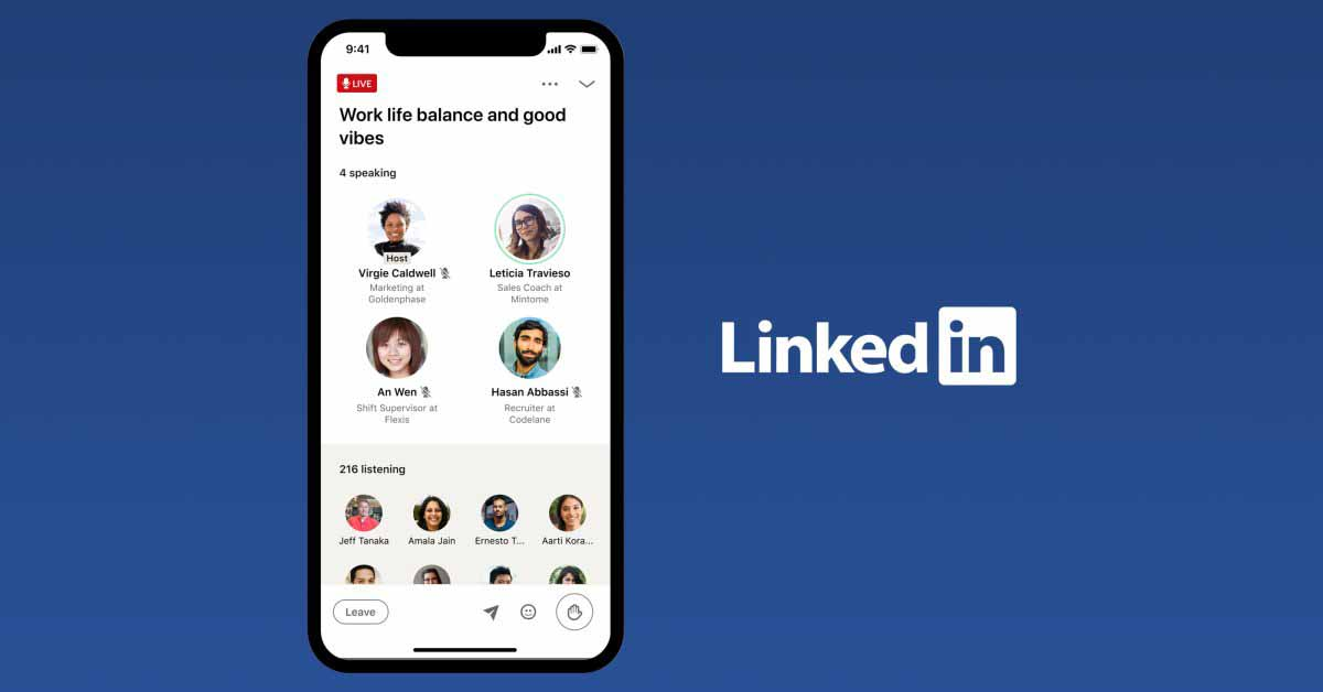 LinkedIn теперь хочет иметь собственную платформу, подобную Clubhouse