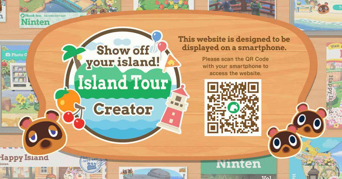 Nintendo запускает новый инструмент для iPhone, который поможет вам продемонстрировать свой остров Animal Crossing