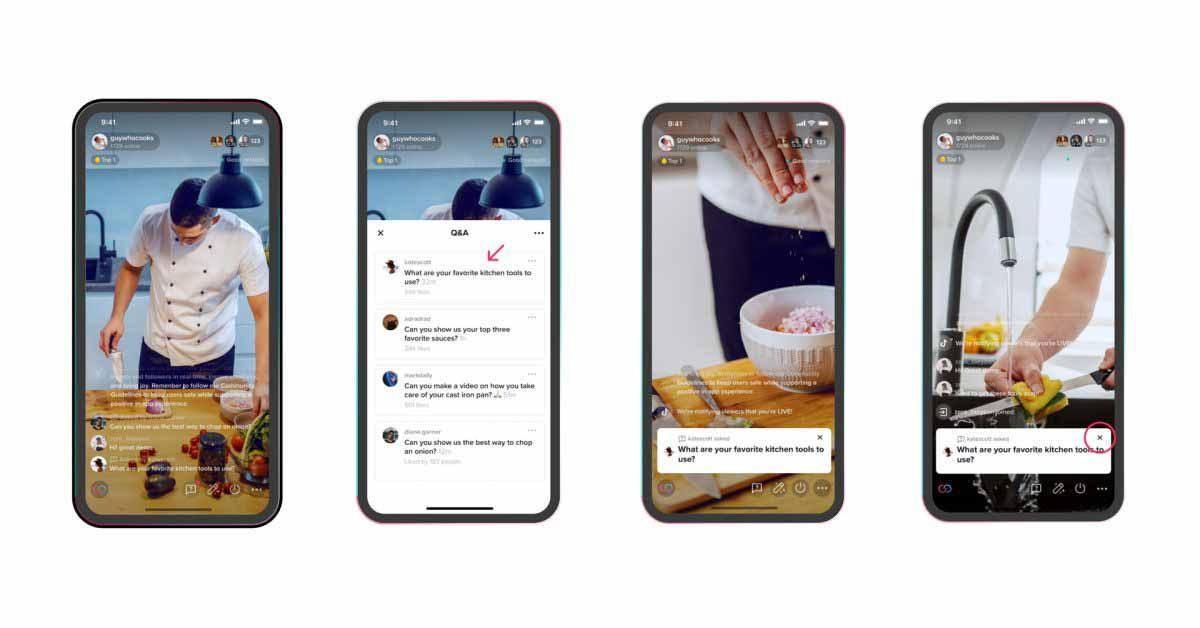 TikTok представляет новую функцию вопросов и ответов, похожую на окно вопросов в Instagram.