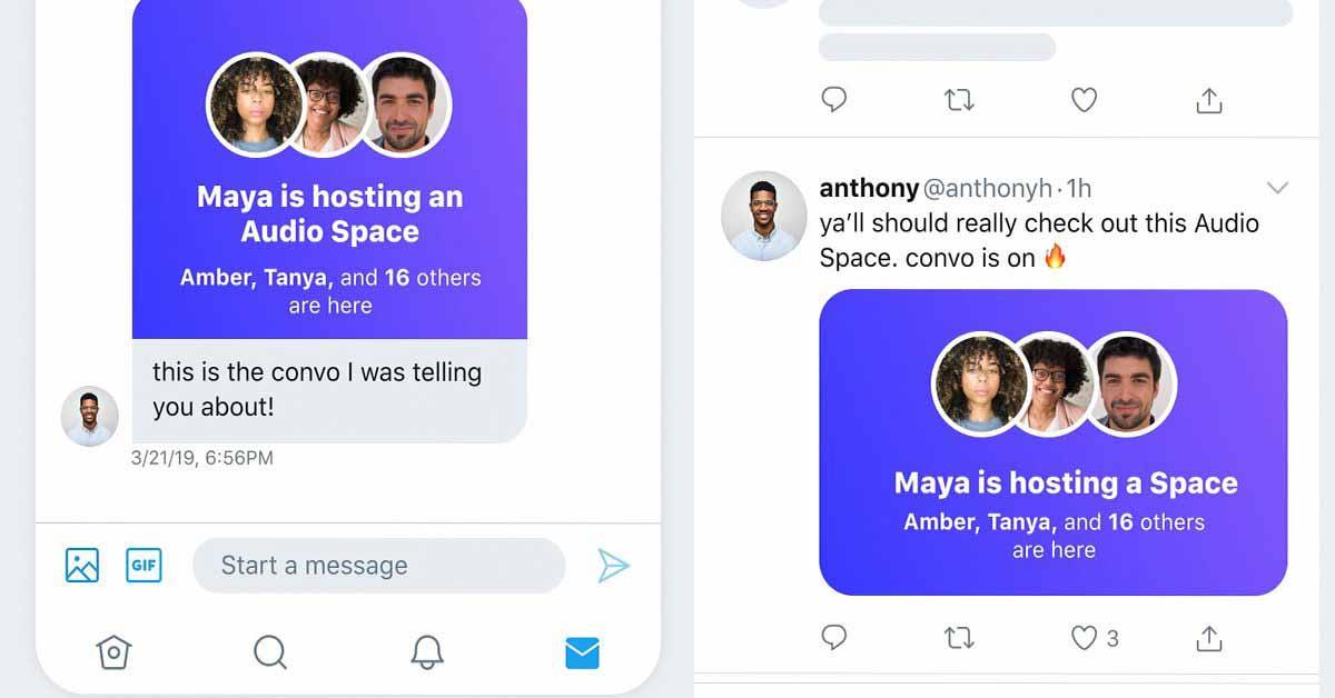 Twitter Spaces может быть запущен в следующем месяце для всех