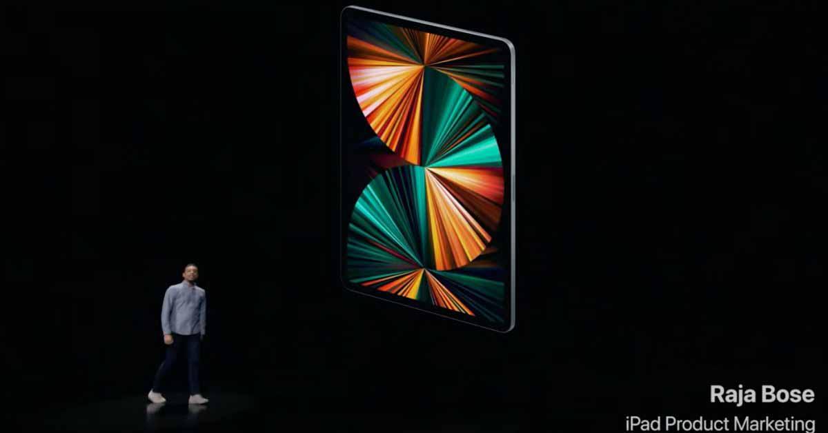 Apple анонсирует новый iPad Pro с чипом M1