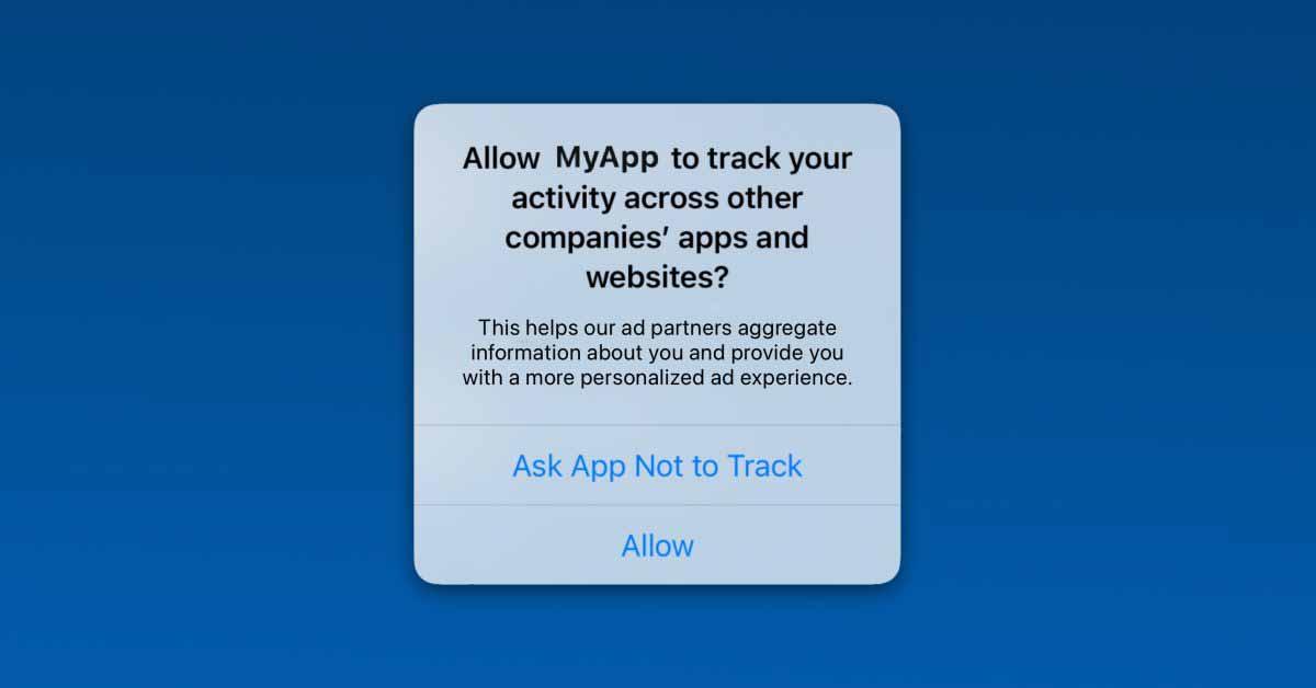 Что означает «Попросить приложение не отслеживать»?