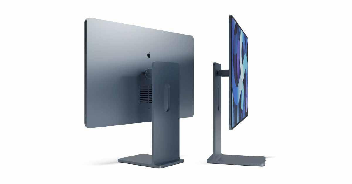 Concept представляет новый дизайн iMac, вдохновленный iPad и Pro Display XDR