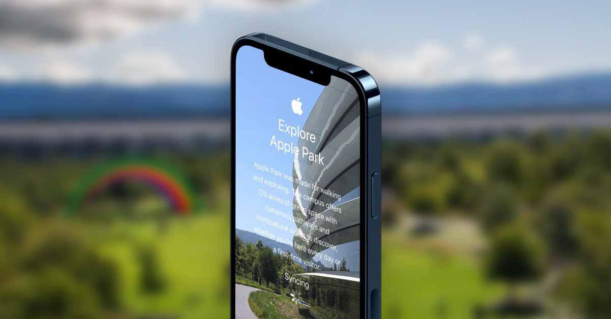 Галерея: это внутреннее приложение Apple Tour Apple Park для приветствия новых сотрудников.