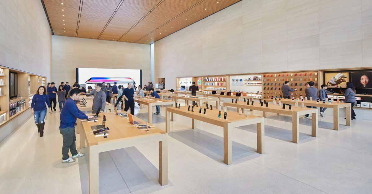 Глава инженерного отдела уходящей компании Apple Retail через 10 лет