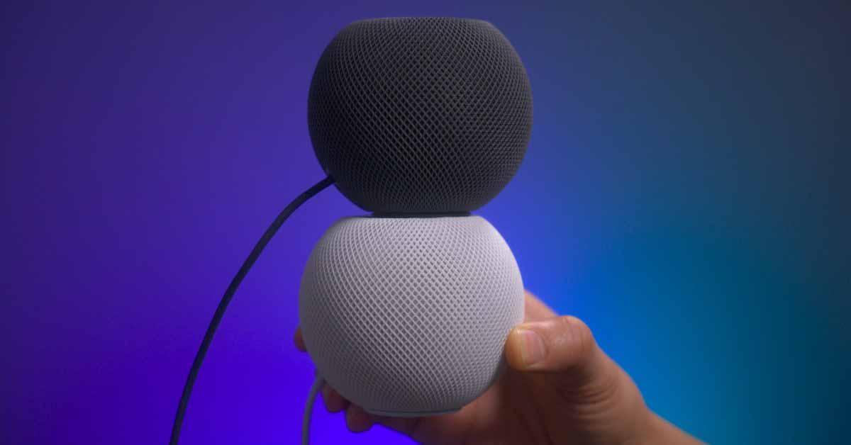 HomePod mini запускается еще в трех странах в июне