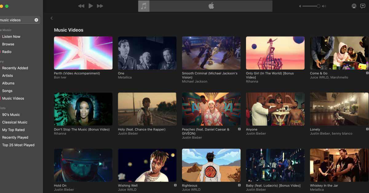 Как загрузить музыкальное видео в Apple Music