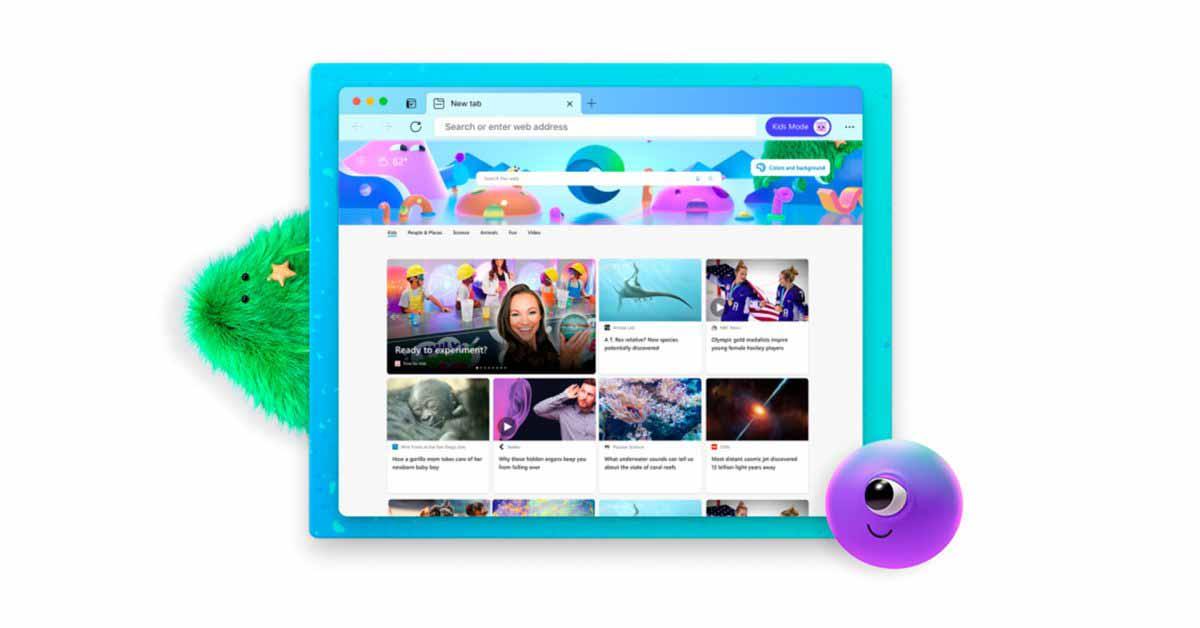 Microsoft Edge для macOS обновлен с новым Детским режимом