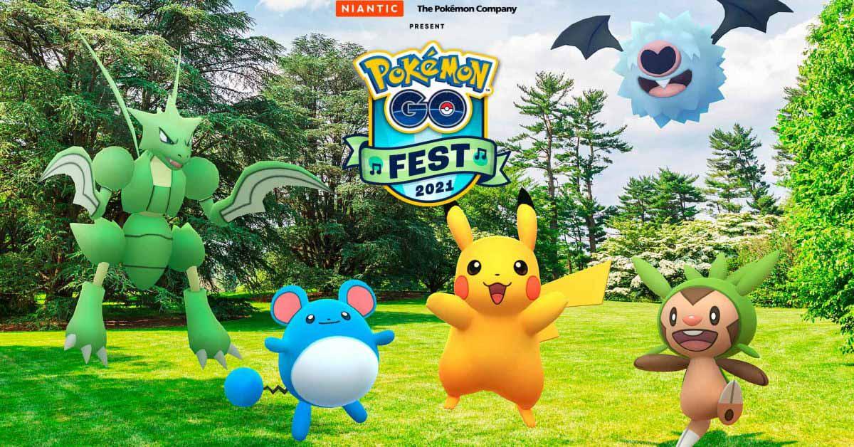 Niantic объявляет о возвращении Pokémon GO Fest в 2021 году