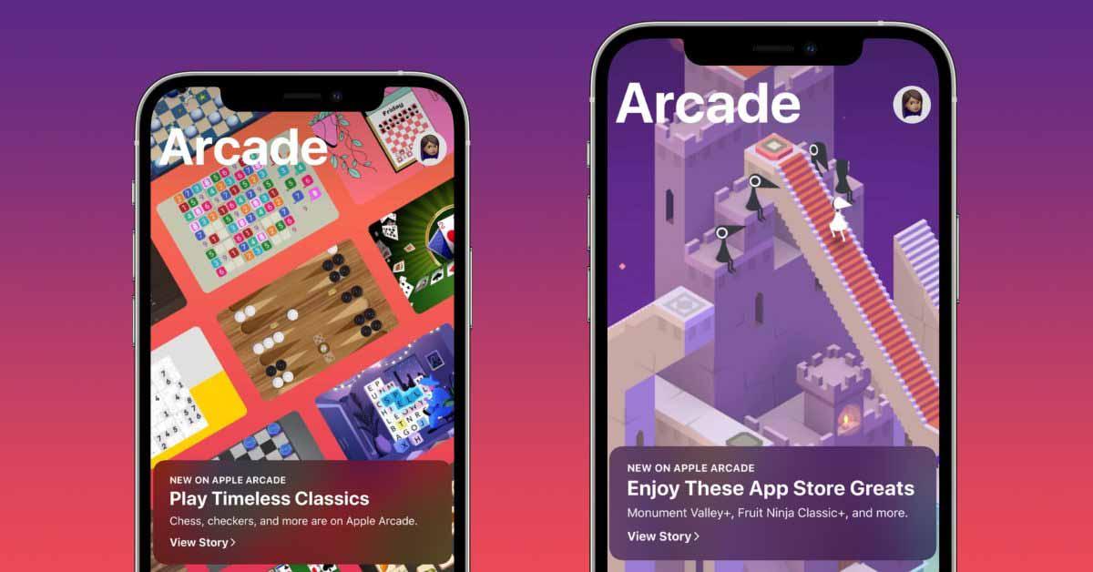 Опрос: Какие популярные игры вы хотите запустить в Apple Arcade?