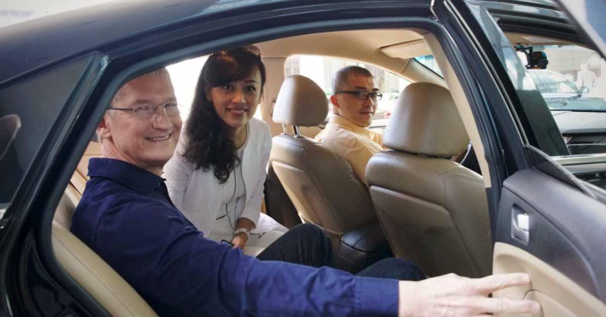 Поддерживаемый Apple китайский сервисный центр Didi Chuxing подает частную заявку на IPO с оценкой ~ 100 млрд долларов