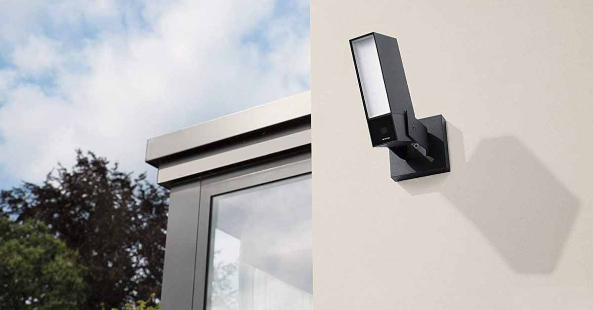 Поддержка Netatmo HomeKit Secure Video для уличных камер
