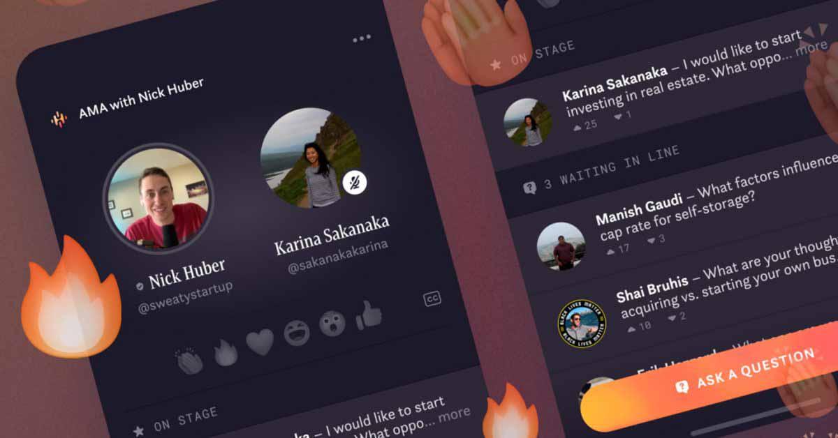 Приложение Facebook Hotline сочетает в себе Clubhouse и Instagram Live