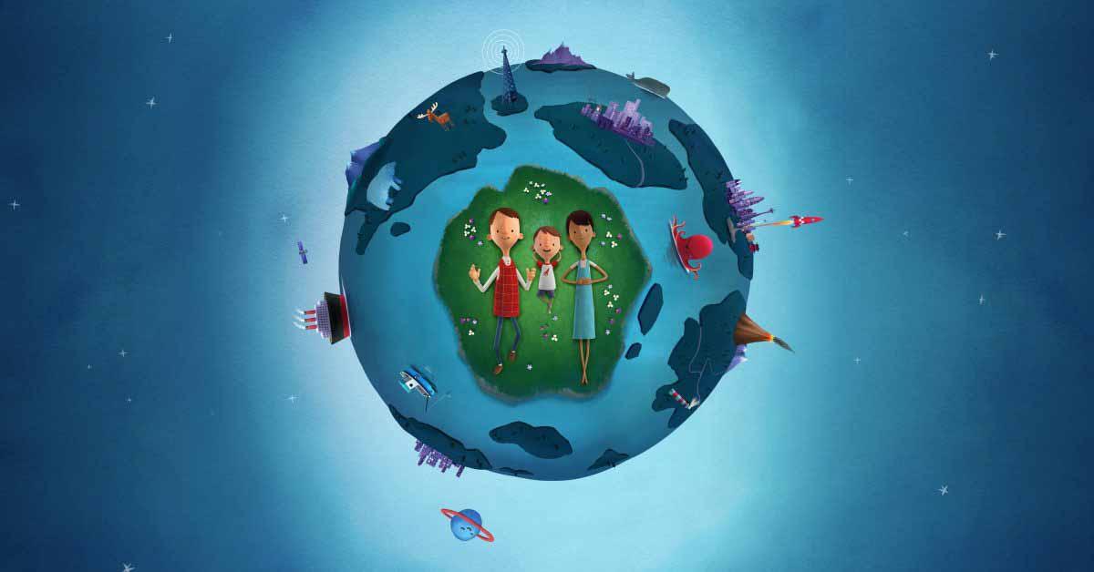 Сегодня в Apple и Оливер Джефферс отмечают День Земли виртуальными сессиями.