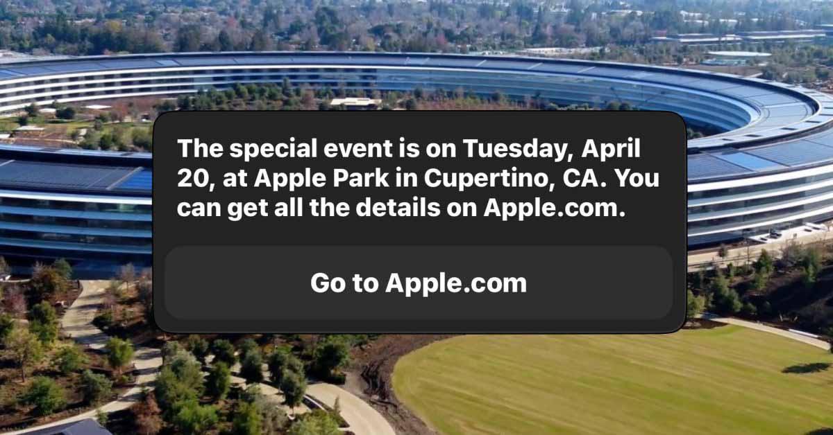 Siri говорит, что следующее мероприятие Apple состоится 20 апреля: ожидается новый iPad Pro