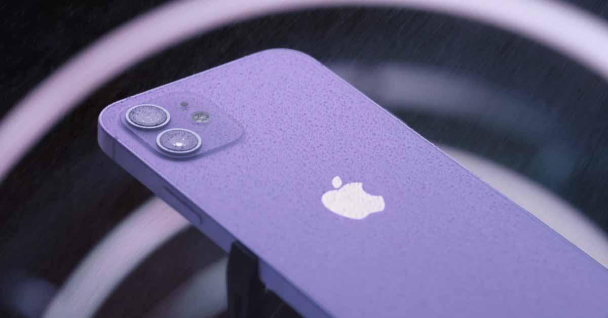 Сводка новостей: знакомство с новым фиолетовым iPhone 12 [Videos]