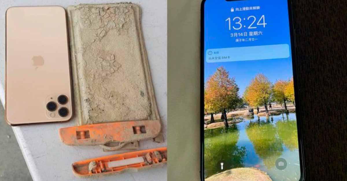 Турист находит iPhone, упавший в озеро Тайваня через год