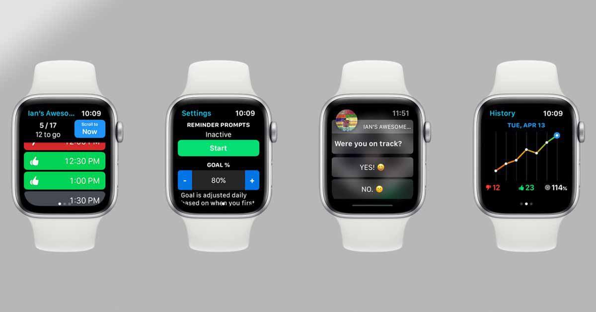 «Удивительный счетчик Иэна» для Apple Watch призван помочь вам быть более внимательными и осознанными.