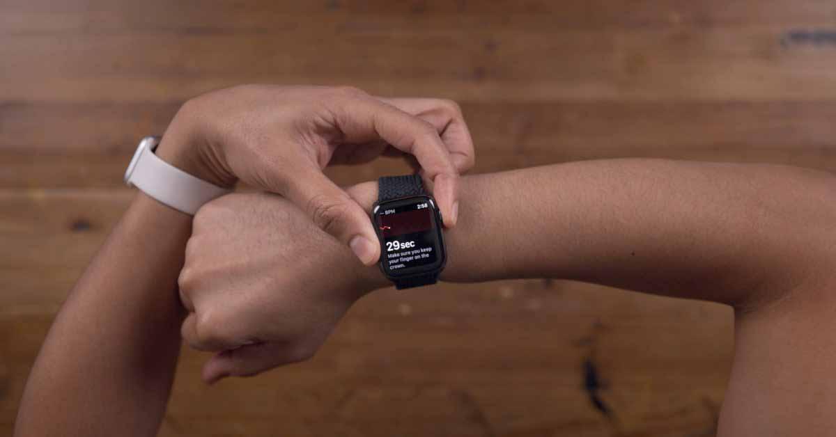 watchOS 7.4 добавляет функцию ЭКГ Apple Watch в Австралию и Вьетнам