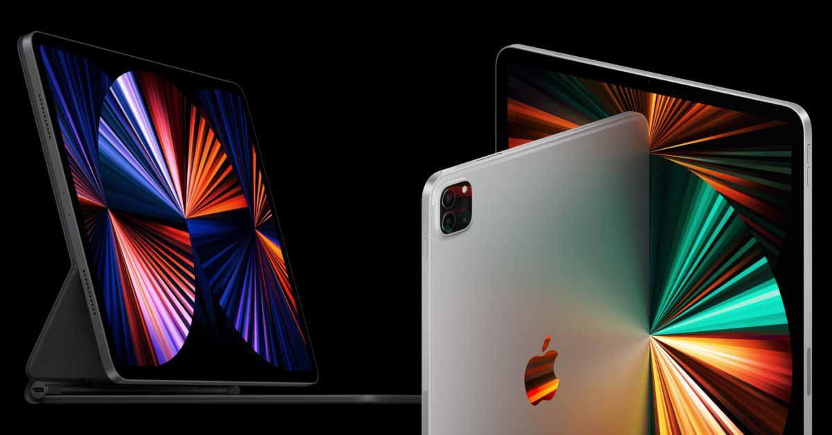 Загрузите новые потрясающие обои для iPad Pro 2021 года