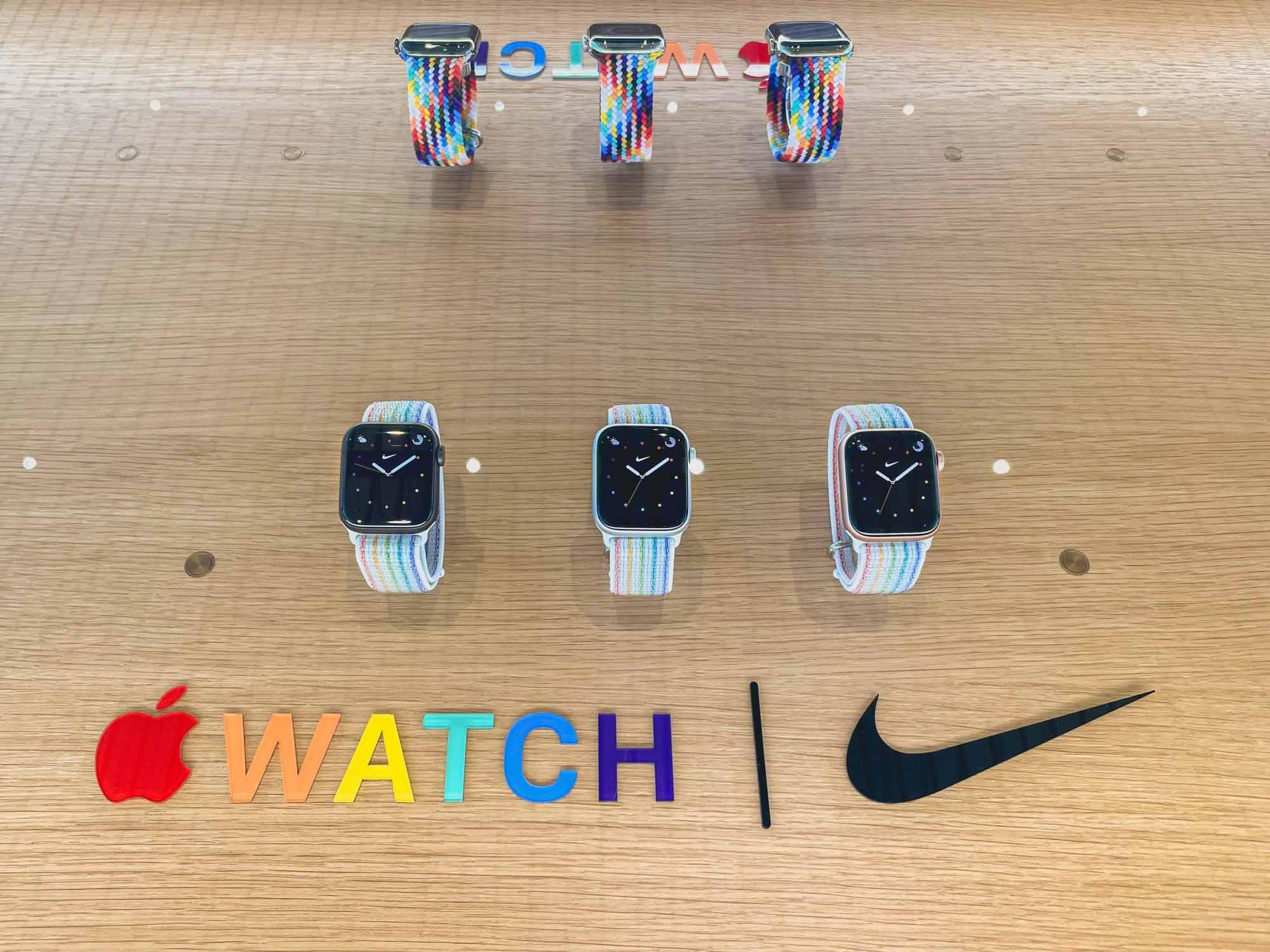 Apple Watch Pride Edition Nike