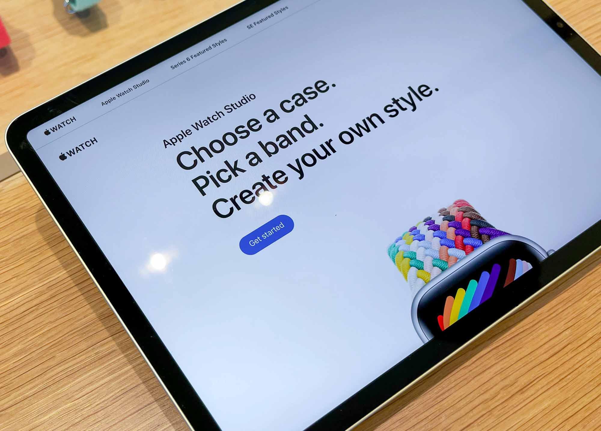 Apple Watch Studio iPad