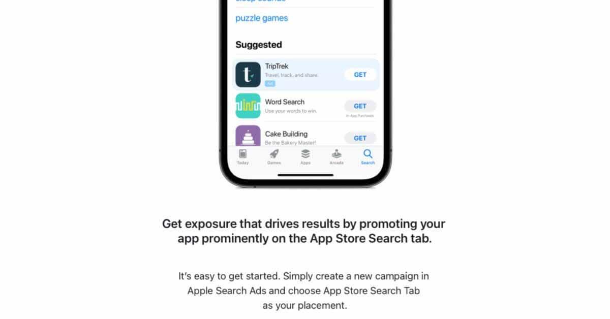 Apple приглашает разработчиков появиться в новых заметных рекламных местах в App Store